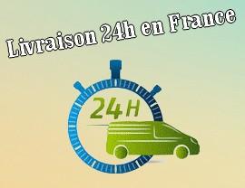 Livraison 24h en France