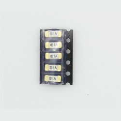 5x lot Fusible ceramique 1808 SMD - 1A - 125V - 2.6x6mm - 172fus253