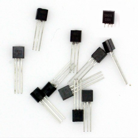 10x Transistor S9015 - PNP - TO-92 -