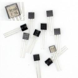 10x Transistor BC548 - BC548B 166 - NPN - TO-92 - 38tran025