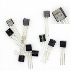 10x Transistor BC558B BC558 - PNP - TO-92 - 38tran026