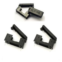 2x Porte fusible BLX-A 5x20mm avec couvercle - 250v