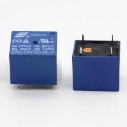 Relais puissance 3v SRD-3VDC-SL-C 10A - 5 pins T73 - 33rel003