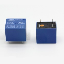 Relais Songle 5v SRD-5VDC-SL-C 10A - 5 pins T73 - 33rel002