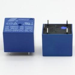 Relais puissance SRD-09V-SL-C 9v 10A - 5 pins T73 - 33rel005