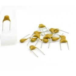 15x Condensateur Céramique Multicouche 101 - 100pf - 50v - 58con148