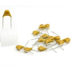 15x Condensateur Céramique Multicouche 103 - 10nf - 50v - 58con150