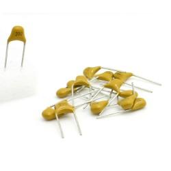 15x Condensateur Céramique Multicouche 200 - 20pf - 50v - 58con152