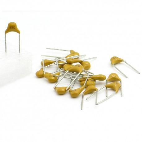 15x Condensateur Céramique Multicouche Monolithique 560 - 56pf - 50v