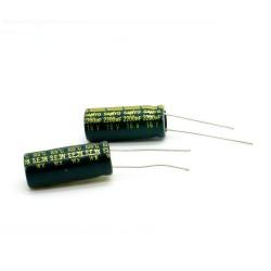 2x Condensateur SANYO 2200uF 16V 10x25mm - 62con144