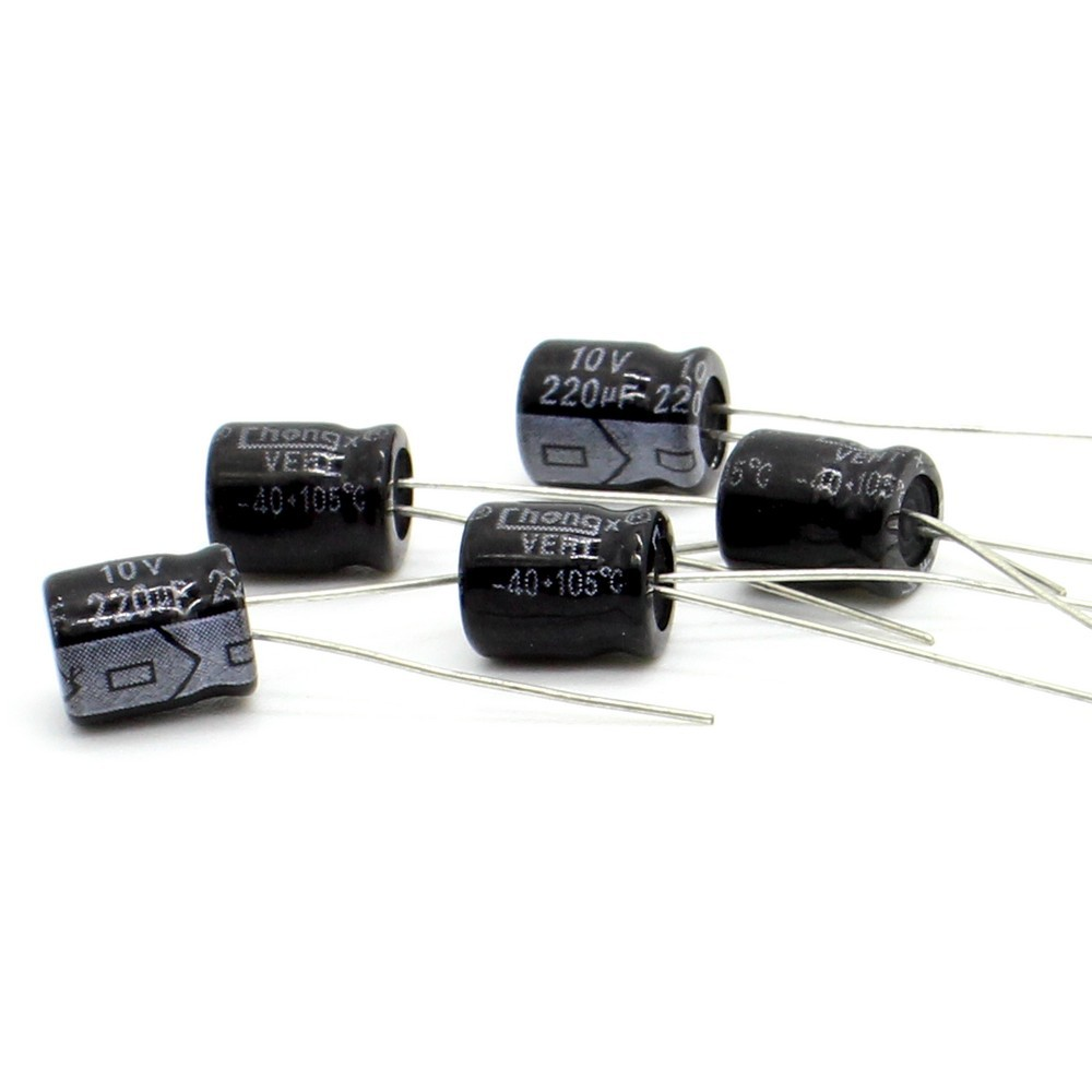 5x8mm condensateur can be Capacitor electrolitico 220uf 10v