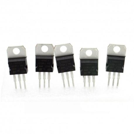 5x L7806CV régulateur de tension 6v - TO-220 - 120reg006