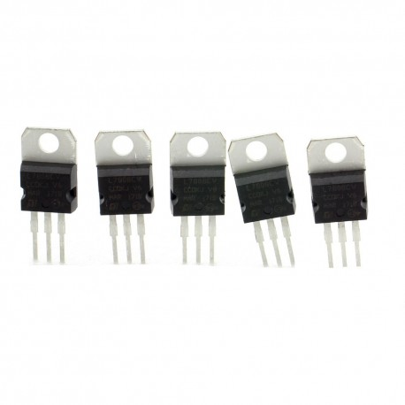 5x L780CV régulateur de tension 8v - TO-220 - 120reg005
