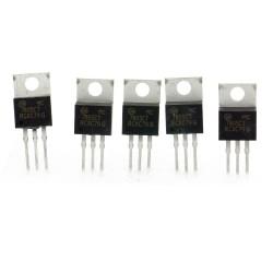 5x MC7805CT 7805 régulateur de tension 5v - TO-220 - 120reg003