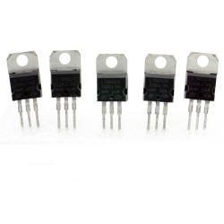 5x L7805cv régulateur de tension 5v - TO-220 - 120reg002