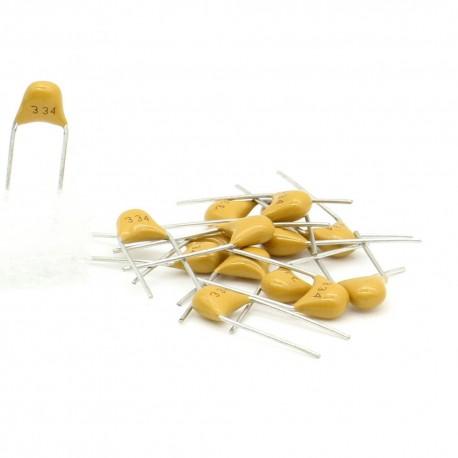 15x Condensateur Céramique Multicouche 334 - 0.33uf - 50v
