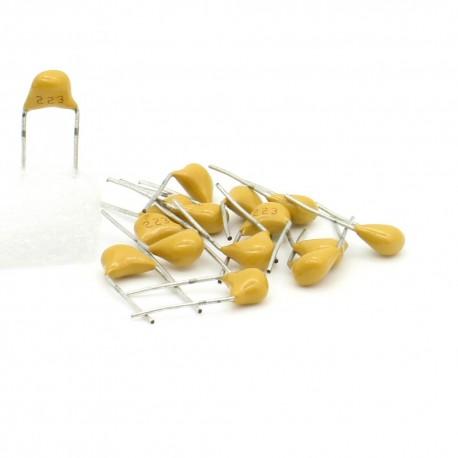 15x Condensateur Céramique Multicouche 223 - 22nf - 50v