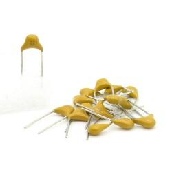 15x Condensateur Céramique Multicouche 221 - 220pf - 50v - 67con192