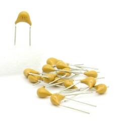 15x Condensateur Céramique Multicouche 331 - 330pf - 50v - 68con199