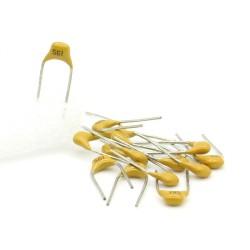 15x Condensateur Céramique Multicouche 561 - 560pf - 50v - 68con200
