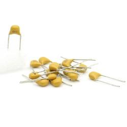 15x Condensateur Céramique Multicouche 681 - 680pf - 50v - 68con201
