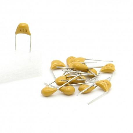 15x Condensateur Céramique Multicouche 473 - 47nf - 50v