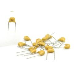 15x Condensateur Céramique Multicouche 39 - 39pf - 50v - 68con208