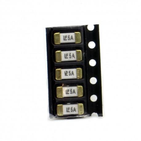 5x lot Fusible rapide 1808 SMD - 5A - 2.6x6mm- Little fuse