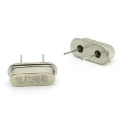 Crystal MEC HC-49S 18.432 MHz Low Profile - ROHS - 2 pièces