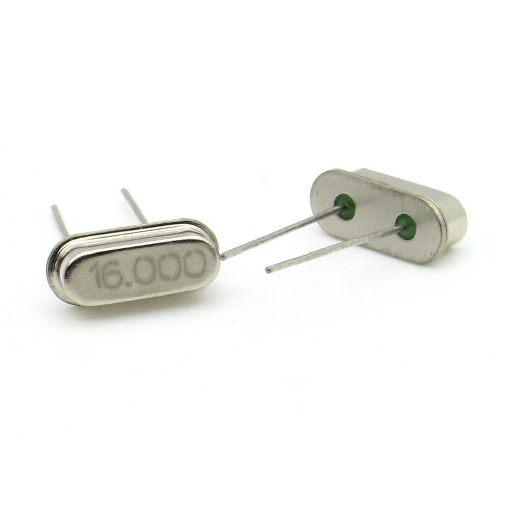Crystal MEC HC-49S 25.000 MHz  Low Profile 2 pièces ROHS 91cris018