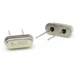 Crystal MEC HC-49S 6.000 MHz Low Profile - ROHS - 2 pièces - 91cris023