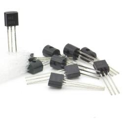 10x Transistor A92 A331 - A92A - PNP - TO-92 - 94tran031