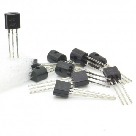 10x Transistor A92 - PNP - TO-92 -