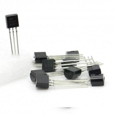 10x Transistor 2N2907 - PNP - TO-92 - 38tran029