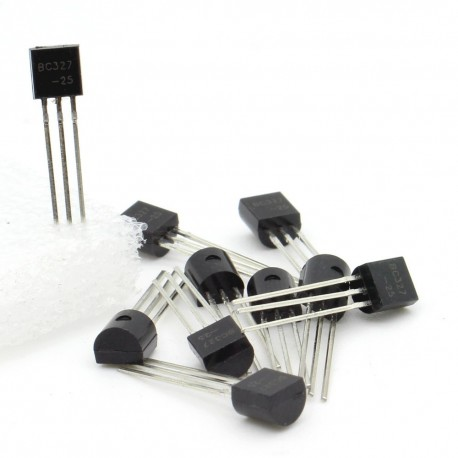 10x Transistor BC327 - PNP - TO-92