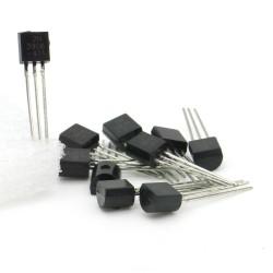 10x Transistor 2N3906 -441 - PNP - TO-92 - 95tran041