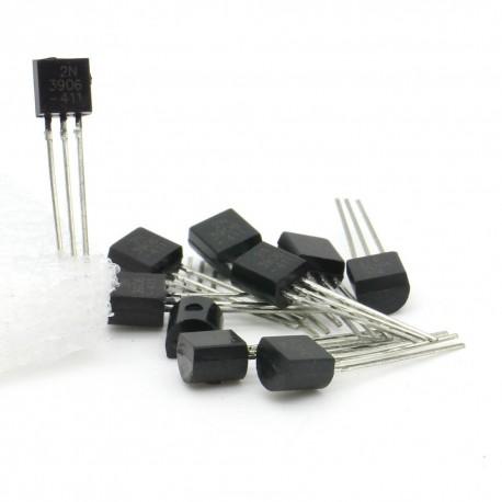 10x Transistor 2N3906 -441 - PNP - TO-92
