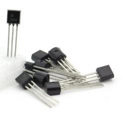 10x Transistor H 2N3906 - PNP - TO-92 - 95tran047