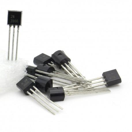 10x Transistor H 2N3906 - PNP - TO-92