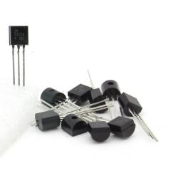 10x Transistor 2N2222 - 2N2222A H331 - NPN - TO92 - 95tran049