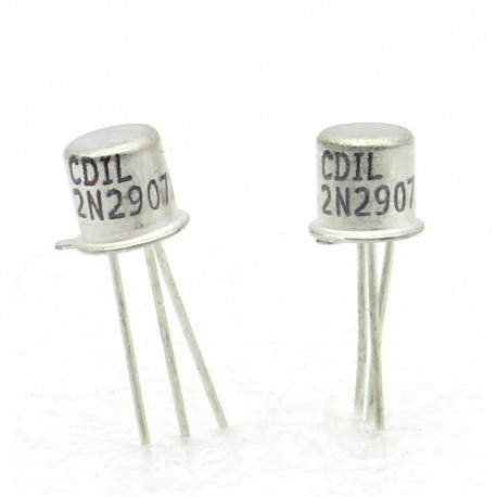 10x Transistor MOSFET CDIL 2N2907A 2N2907 - PNP - TO18 - TO-18