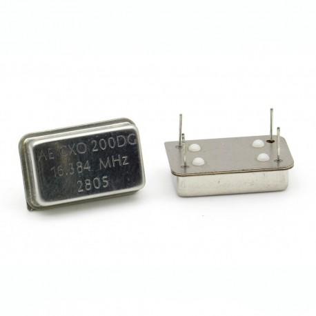 CRYSTAL Oscilliateur MEC - 16.384 MHZ - OSC-16.384M-MEC - ROHS