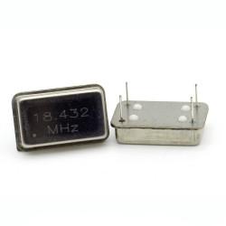 CRYSTAL Oscilliateur MEC - 18.432MHZ - OSC-18.432M-MEC-LF - ROHS