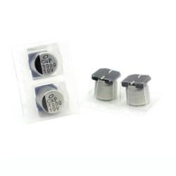 2x Condensateur SMD nichicon 1000uf 10v - 10x10mm - 111con322