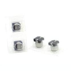 2x Condensateur SMD nichicon 10uf 25v - 5x5mm - 111con320