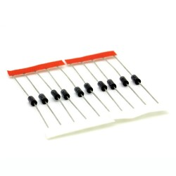 10x Diode EIC Schottky 1N5817 - 1A - 20V - DO-41 - 112diod001