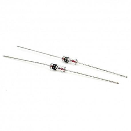 2x Diode AEC 1N270 Germanium DO-7 - 100v