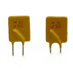 2x Fusible réarmable 30V - 3A PolySwitch RUEF series -Tyco - 115fusr003