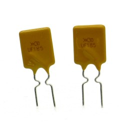 2x Fusible réarmable 30V - 1.85A PolySwitch RUEF series -Tyco - 115fusr007