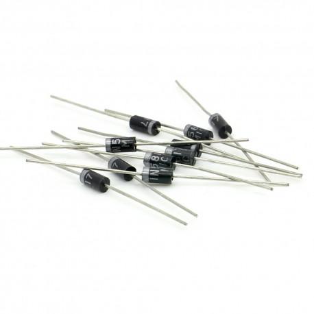 10x Diode Schottky 1N5817 - 1A - 20V - DO-41 - 122diod078